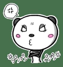 SHAREPAN of stylish panda sticker #92521
