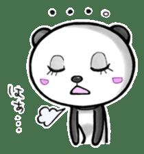 SHAREPAN of stylish panda sticker #92524