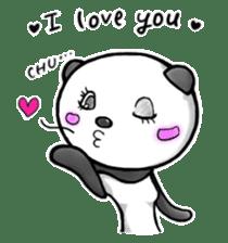 SHAREPAN of stylish panda sticker #92526