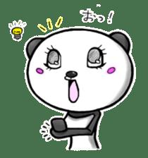 SHAREPAN of stylish panda sticker #92530