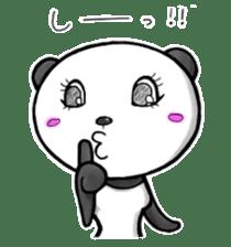 SHAREPAN of stylish panda sticker #92534