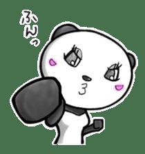 SHAREPAN of stylish panda sticker #92548