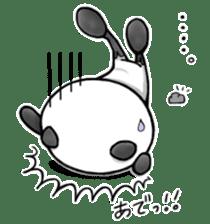 SHAREPAN of stylish panda sticker #92549