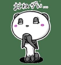 SHAREPAN of stylish panda sticker #92551