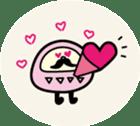 marugao daruma sticker #92685