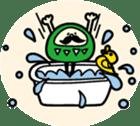 marugao daruma sticker #92706