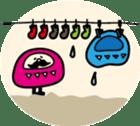 marugao daruma sticker #92707