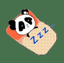 Heart of Love Panda sticker #92797