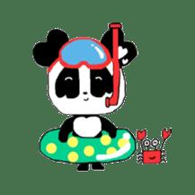 Heart of Love Panda sticker #92810