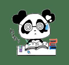 Heart of Love Panda sticker #92814