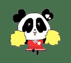 Heart of Love Panda sticker #92816