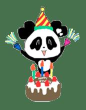 Heart of Love Panda sticker #92817
