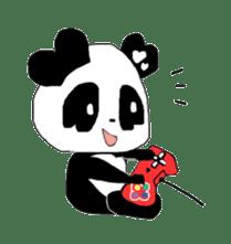 Heart of Love Panda sticker #92821