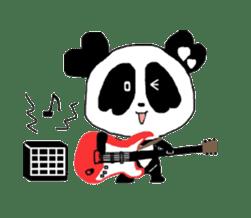 Heart of Love Panda sticker #92824