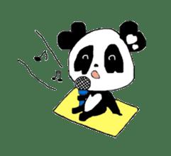 Heart of Love Panda sticker #92833
