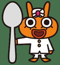 Von curry<curry shop Battle> sticker #92849