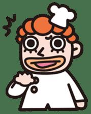 Von curry<curry shop Battle> sticker #92852