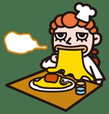 Von curry<curry shop Battle> sticker #92865