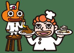 Von curry<curry shop Battle> sticker #92873