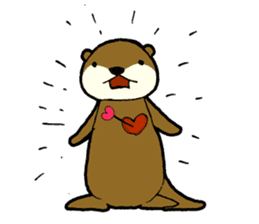 otter STAMP sticker #93041