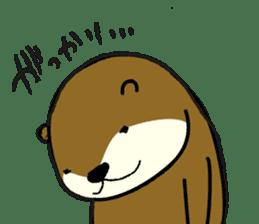 otter STAMP sticker #93052