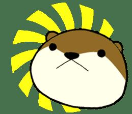 otter STAMP sticker #93074