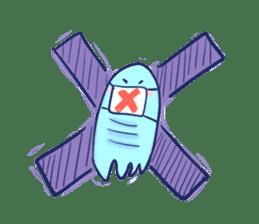 Hello Alien U sticker #93123