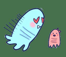 Hello Alien U sticker #93142