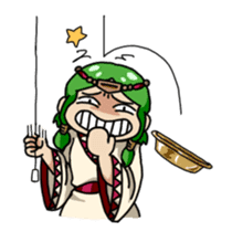 Seijo-Ufa & Orusu sticker #94090