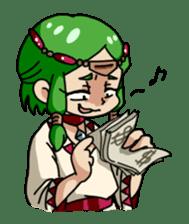 Seijo-Ufa & Orusu sticker #94103