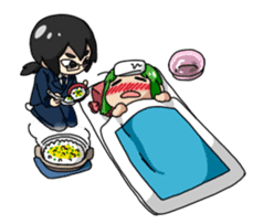 Seijo-Ufa & Orusu sticker #94115