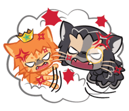 Prince Dominic & Sir Puma sticker #94402
