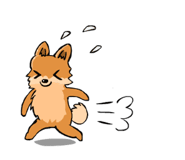 Pomeranian GON sticker #94530