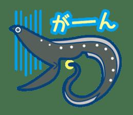 Giant squid & Benthic feeder sticker #94667