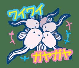 Giant squid & Benthic feeder sticker #94670