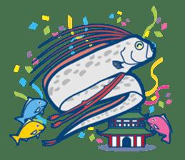 Giant squid & Benthic feeder sticker #94671