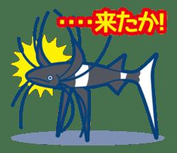 Giant squid & Benthic feeder sticker #94673