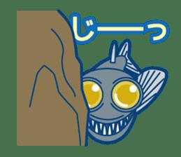 Giant squid & Benthic feeder sticker #94675