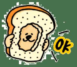 Ponu of puppy sticker #95116