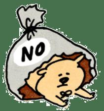 Ponu of puppy sticker #95117