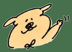 Ponu of puppy sticker #95120