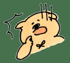 Ponu of puppy sticker #95121