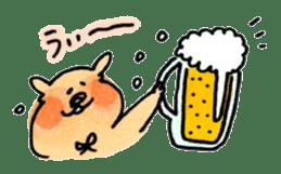 Ponu of puppy sticker #95124