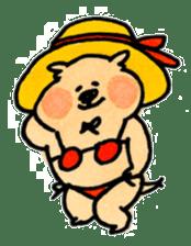Ponu of puppy sticker #95125