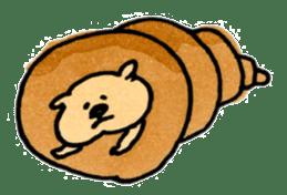 Ponu of puppy sticker #95136