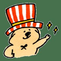 Ponu of puppy sticker #95137