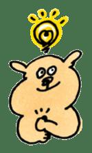 Ponu of puppy sticker #95147