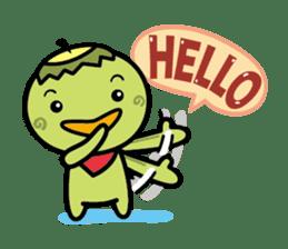 Hello!  KAPPA sticker #95286