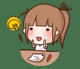 HighTea as a Student sticker #95720