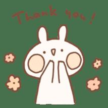 momochy's Rabbit sticker #95877